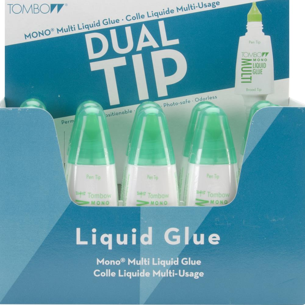 Tombow - Mono - Multi Liquid Glue - Dual Tip - 0.88 oz