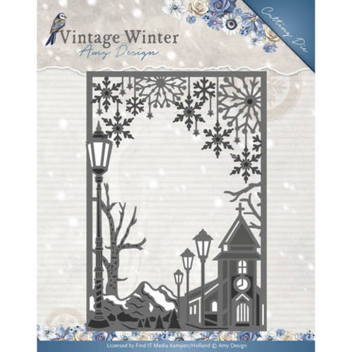Amy Design - Vintage Winter - Village Frame Straight