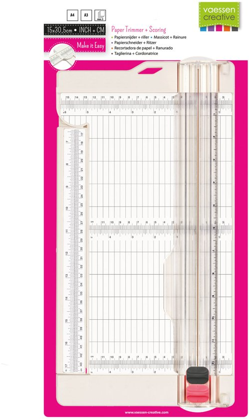 Vaessen Creative paper trimmer + scoring 6