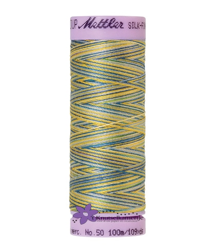 Kleurnr. 9829 Gemeleerd Silk Finish Multi