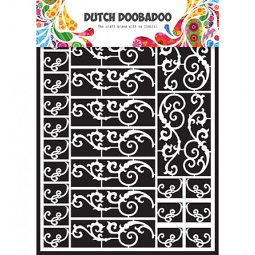 Dutch Paper Art  Swirls