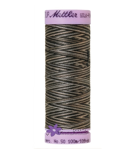 Kleurnr. 9861 Gemeleerd Silk Finish Multi