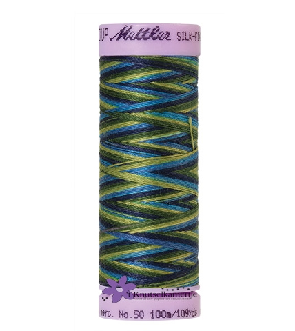 Kleurnr. 9815 Gemeleerd Silk Finish Multi