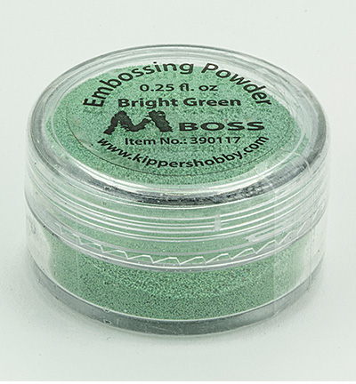 Mboss embossing powder Bright Green