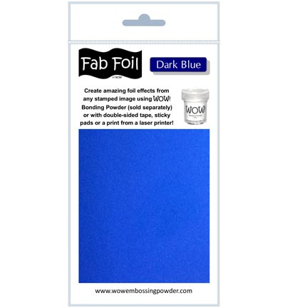Fabulous Foil Dark Blue