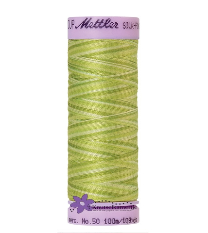 Kleurnr. 9817 Gemeleerd Silk Finish Multi