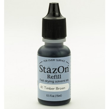 StazOn Refill Jet Black