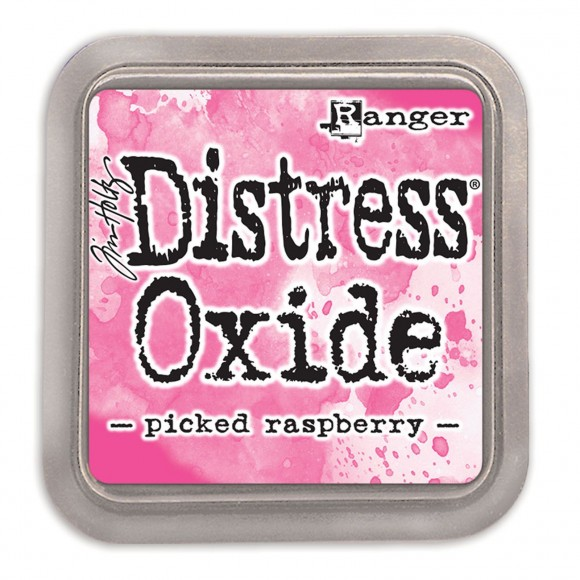 Tim Holtz distress oxide picked raspberry