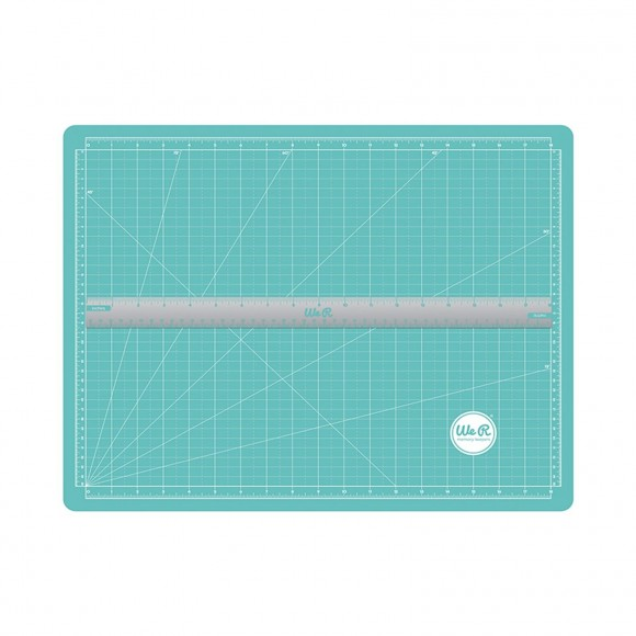 We R Memory Keepers - Magnetic Cutting Mat  - incl. Ruler / 4 Magnets - (6pcs)