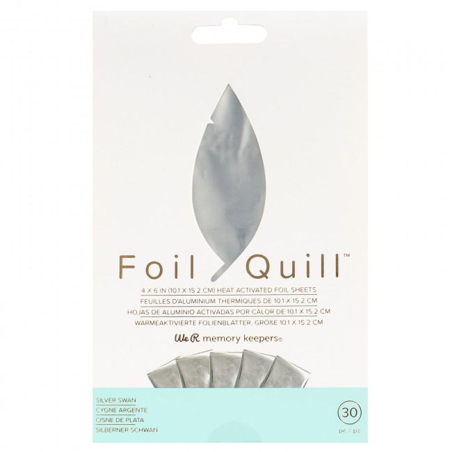 We R Memory Keepers Foil Quill foil silver swan