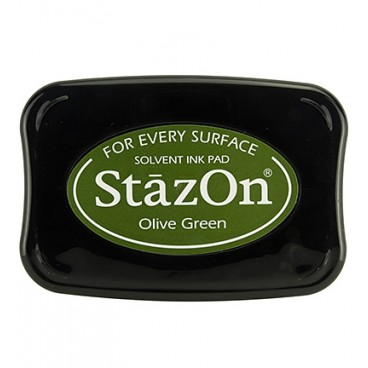 StazOn Olive Green