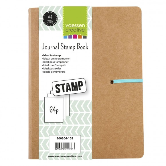 Vaessen Creative  journal stamp book A4
