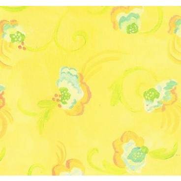K&Companie KH Yellow Floral Flat Paper