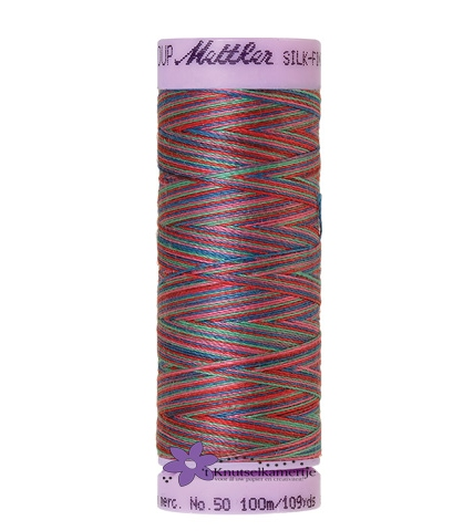 Kleurnr 9836 Gemeleerd Silk Finish Multi