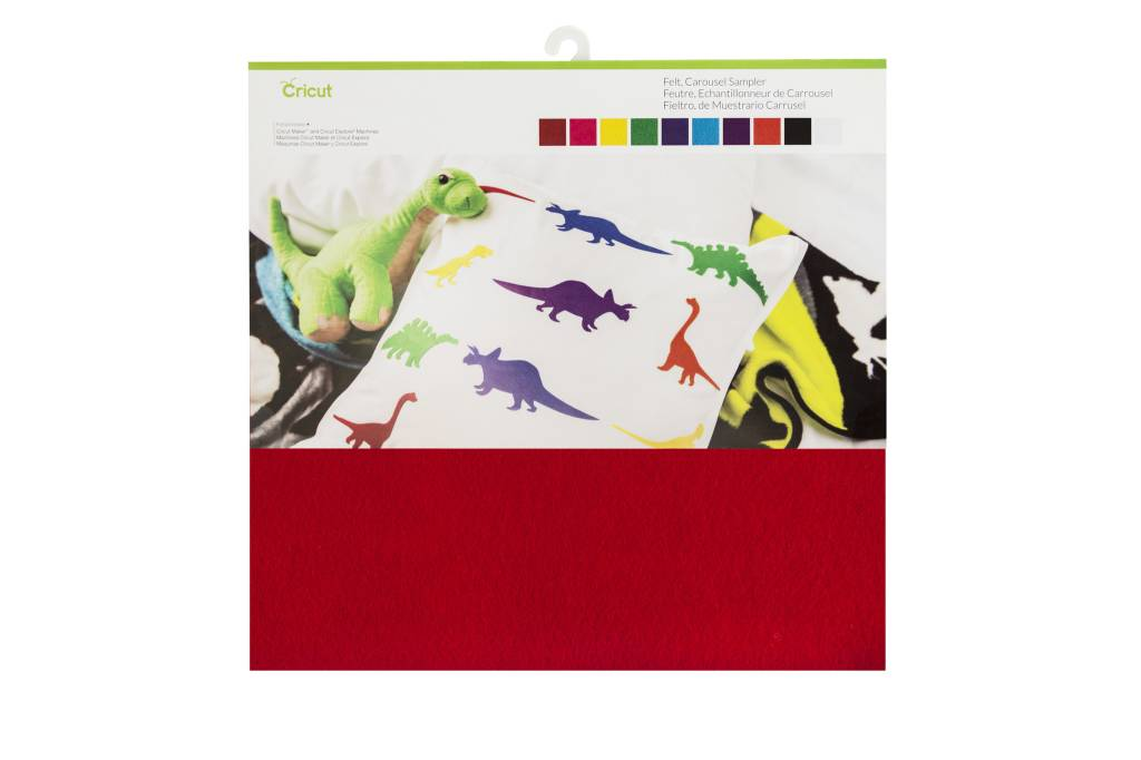 Cricut - Felt - Carrousel Sampler - (10pcs)