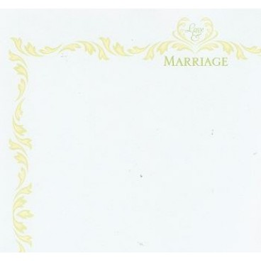 K&Company LB Madeira Love & Marriage Flat Paper