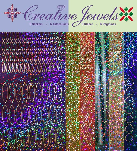Creative Jewels  Stickerset