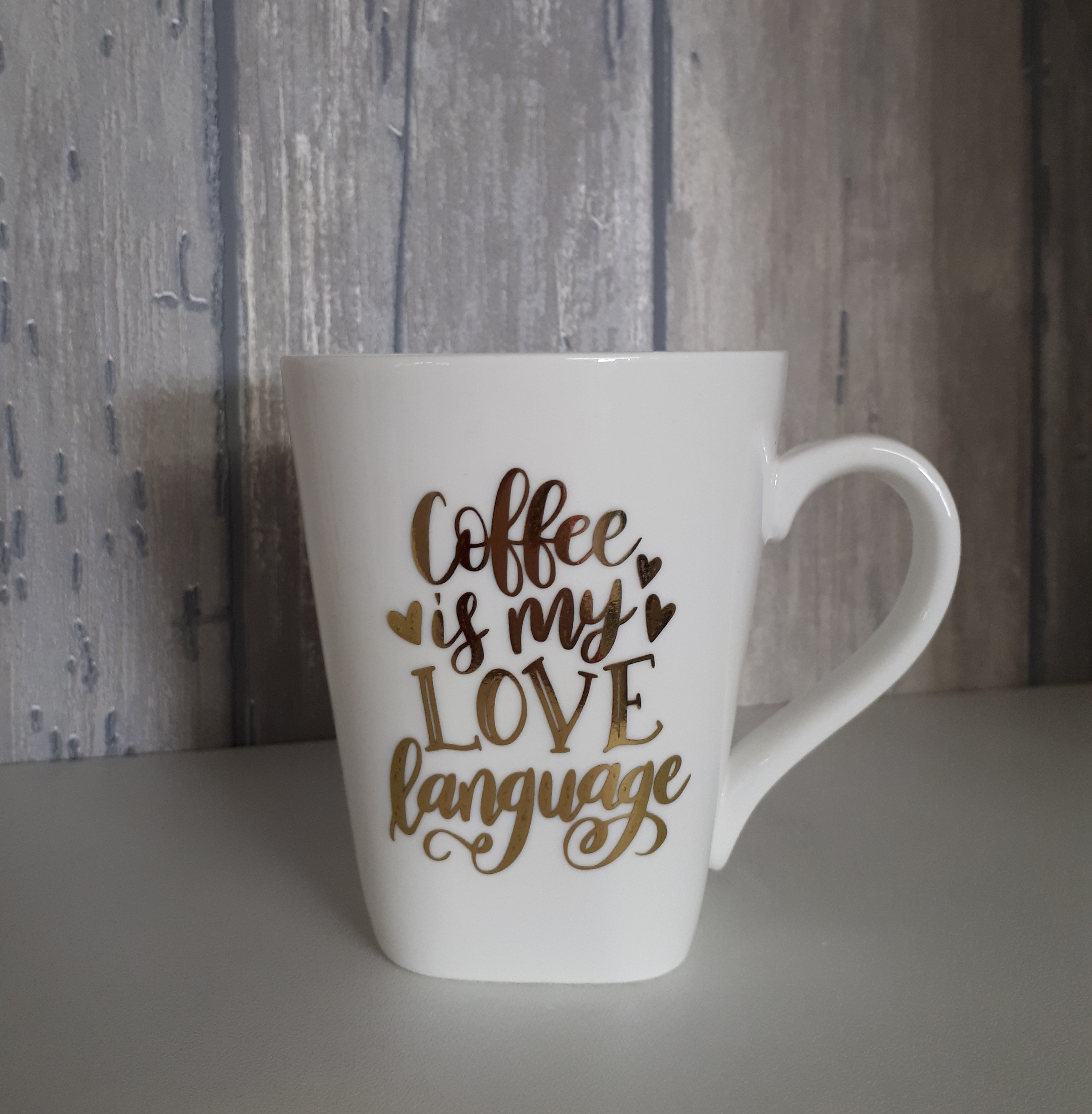 Beker....Coffe is my love language