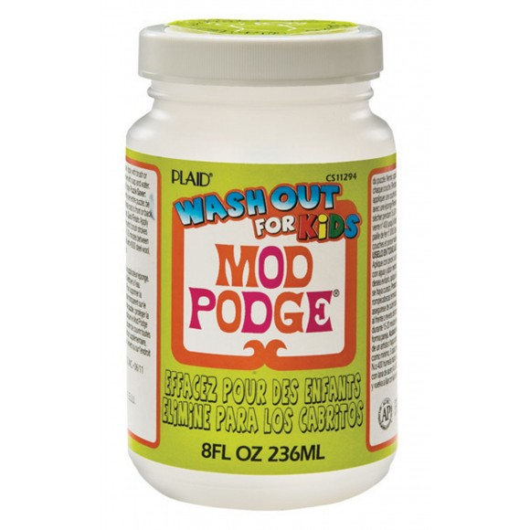 Mod Podge Kids glue wash out