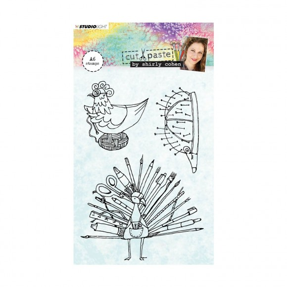 Studio Light  Clear stamp A6 Shirley Cohen nr. 04