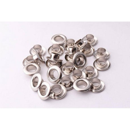Vaessen Creative - Eyelets metallic Nickel - 25pcs
