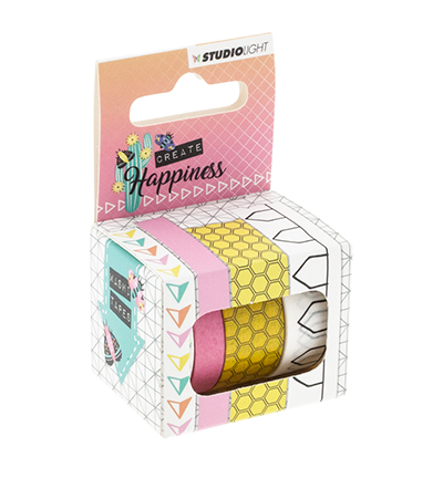 Washi tape, Create Happiness nr.02