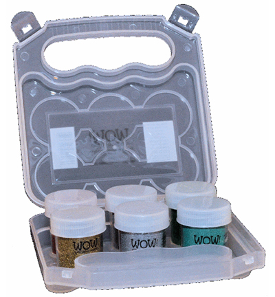 Powder Arts Empty Wow Embossing Kit Case