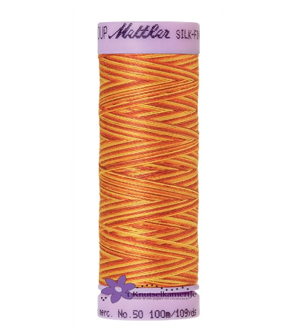 Kleurnr. 9858 Gemeleerd Silk Finish Multi