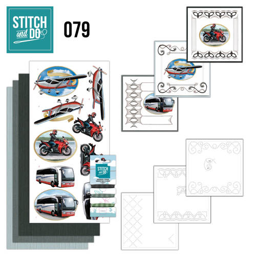 Stitch and Do 79 -  Daily transport