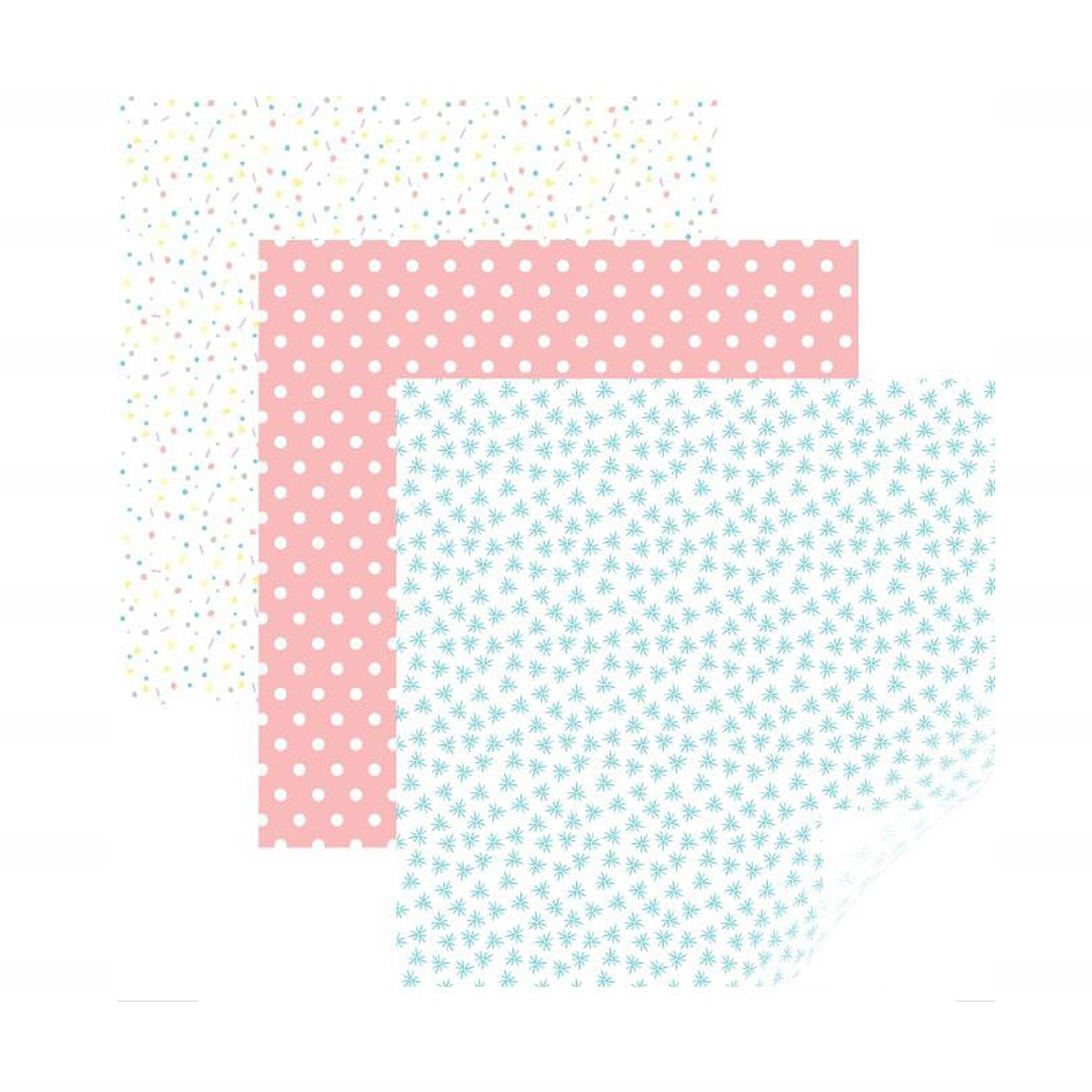 Cricut - StrongBond - Patterned Iron-On - Party Time Pastel Sampler