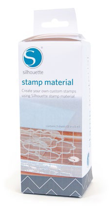Silhouette Stamp materiaal
