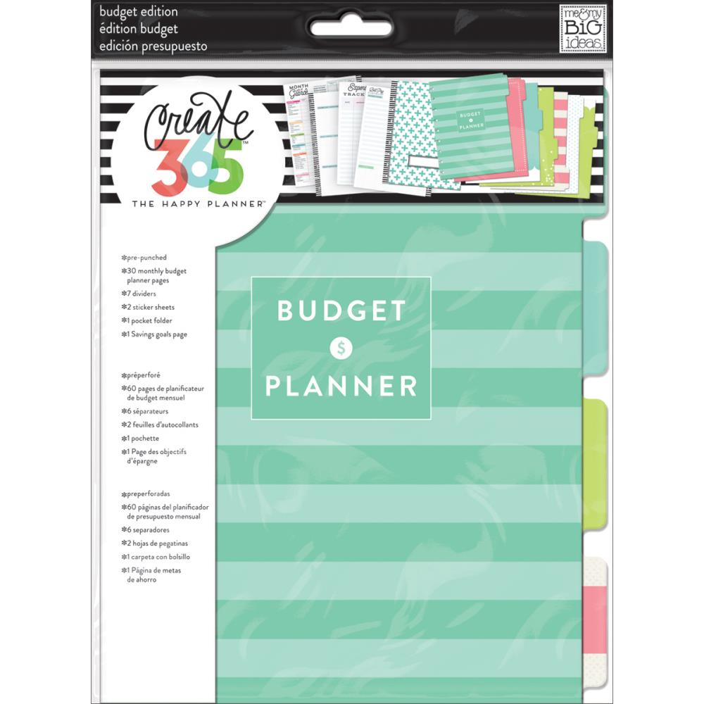 The Happy Planner - Medium Planner - Extension Pack - Budget Edition