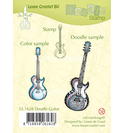 LeCreaDesign - Doodle Stamp - Guitar