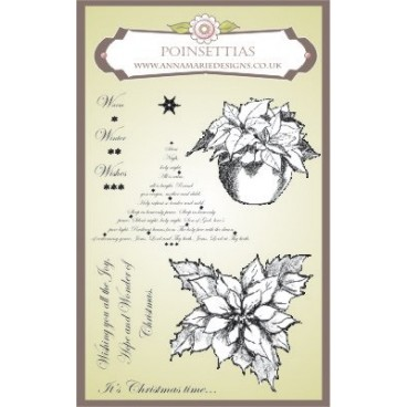 Anna Marie Designs Poinsettia