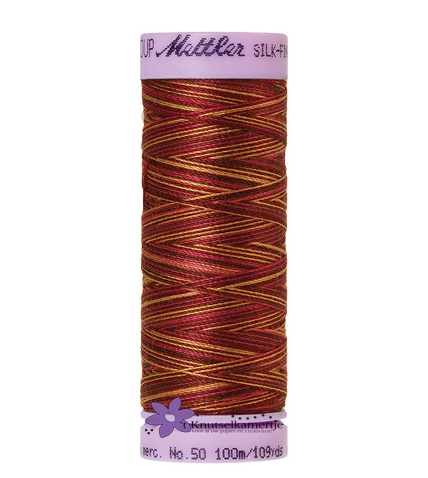 Kleurnr. 9850 Gemeleerd Silk Finish Multi