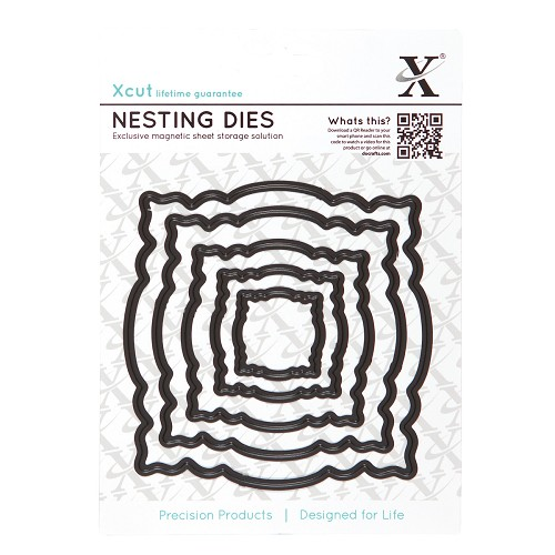 NESTING DIES - ORNATE FRAME (5PCS)