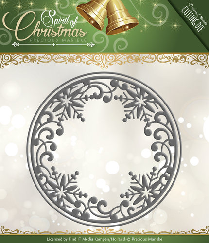 Precious Marieke - Spirit of Christmas - Snowflake Circle