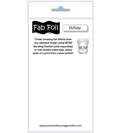 Fabulous Foil White
