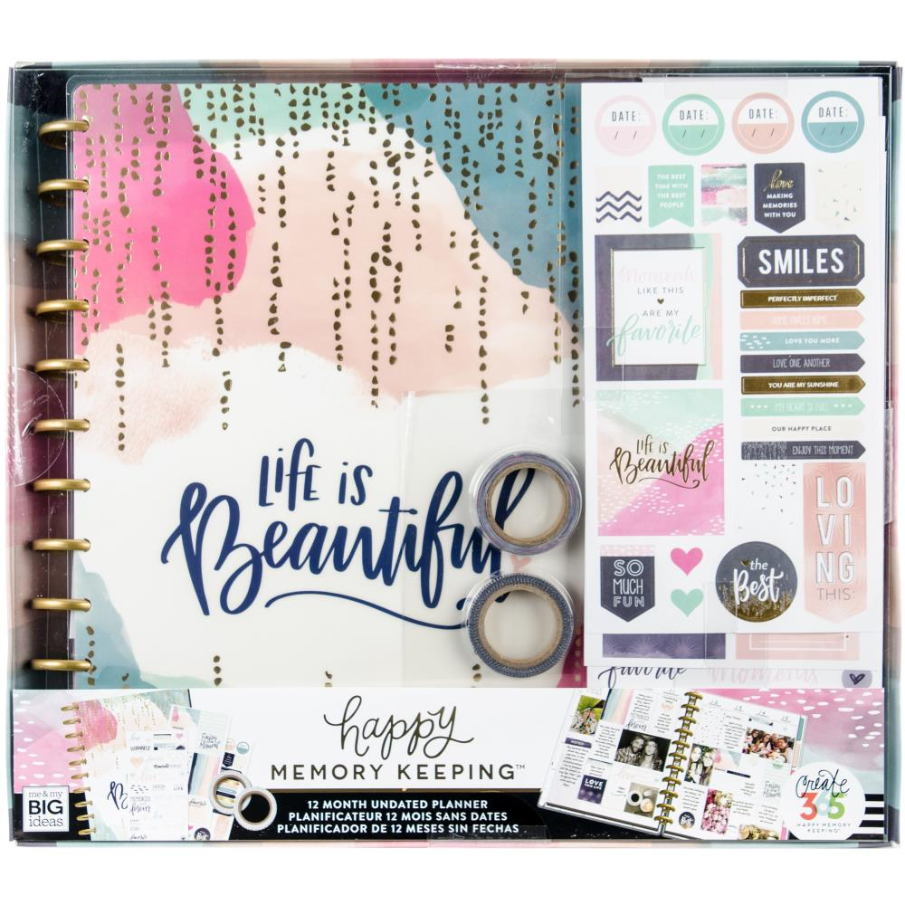 Happy Memory Keeping - Happy Memory Big Box - Undated 12-month Big Planner Box kit