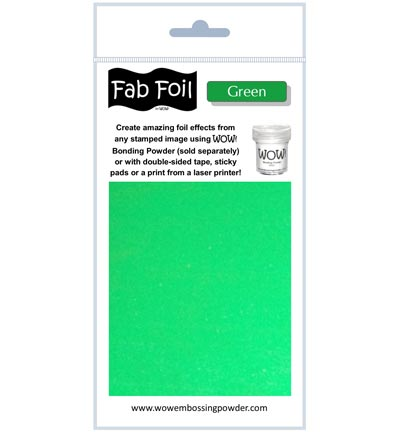 Fabulous Foil Green