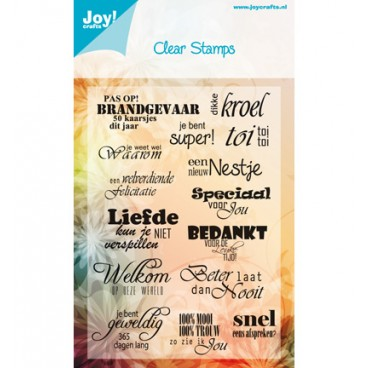 Joy!Crafts -  Diverse teksten NL