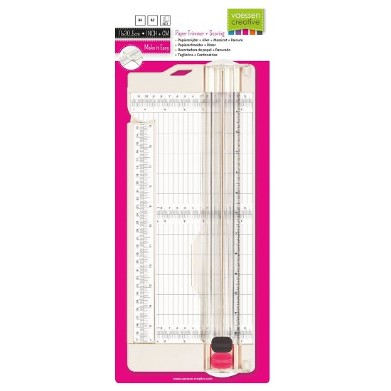Vaessen Creative paper trimmer + scoring 4.5