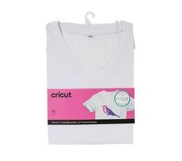 Cricut V-Neck T-Shirt Blank M