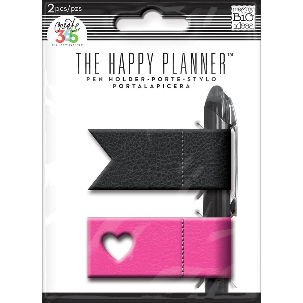The Happy Planner - Pink/Black - Planner Pen Holders