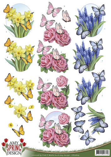 Amy Design - Spring - Butterflies