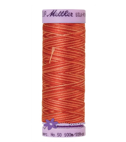 Kleurnr. 9832 Gemeleerd Silk Finish Multi