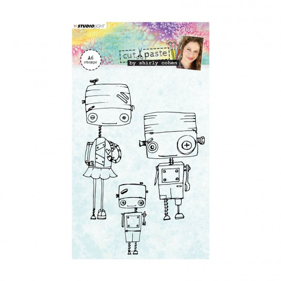 Studio Light  Clear stamp A6 Shirley Cohen nr. 01
