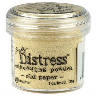 Old Paper  Distress embossing powder Tim Holtz