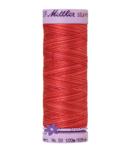 Kleurnr. 9848 Gemeleerd Silk Finish Multi