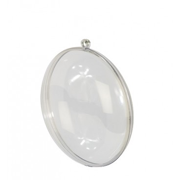 Medaillon 11 cm transparent